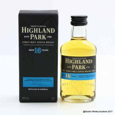 Highland Park 16 Year Old Mini 5cl