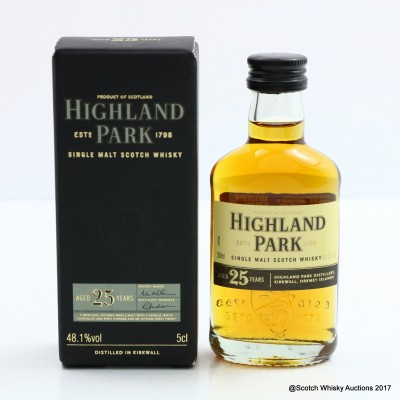 Highland Park 25 Year Old Mini 5cl