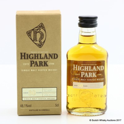 Highland Park 30 Year Old Mini 5cl