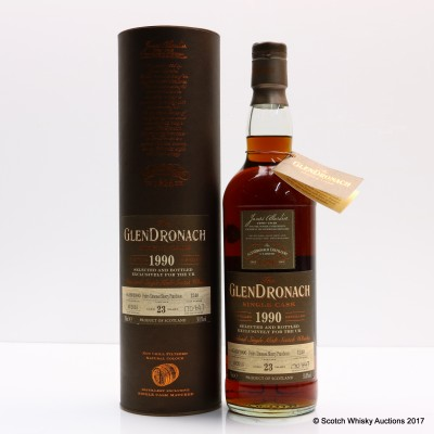 GlenDronach 1990 23 Year Old Single Cask #1240