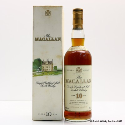 Macallan 10 Year Old Old Style 75cl