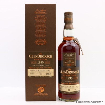 GlenDronach 1995 16 Year Old Single Cask #3510