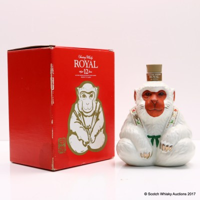 Suntory Royal 12 Year Old Ape Decanter 60cl