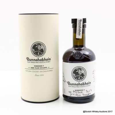 Bunnahabhain 2007 8 Year Old Hand Filled 20cl