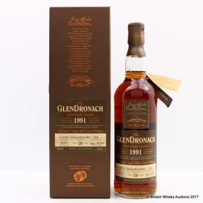 GlenDronach 1991 19 Year Old Single Cask #2406