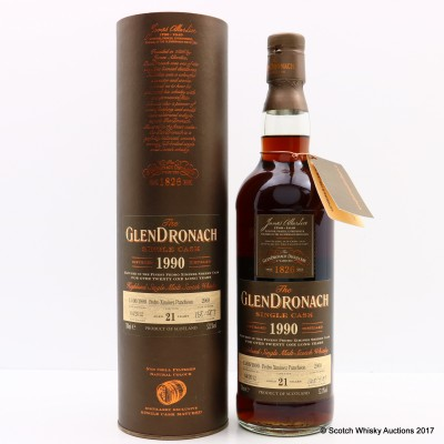 GlenDronach 1990 21 Year Old Single Cask #2969