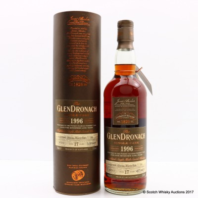 GlenDronach 1996 17 Year Old Single Cask #198