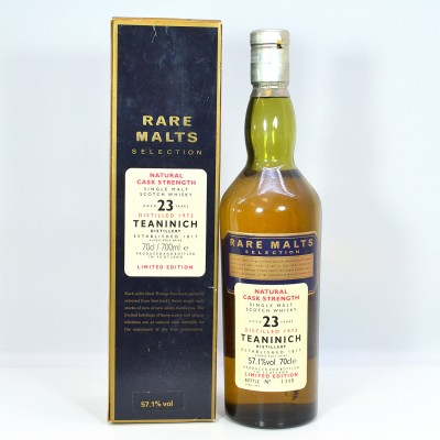 Rare Malts Teaninich 23 Year Old
