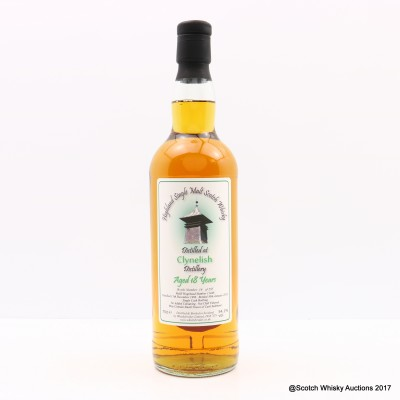 Clynelish 1996 18 Year Old Whisky Broker