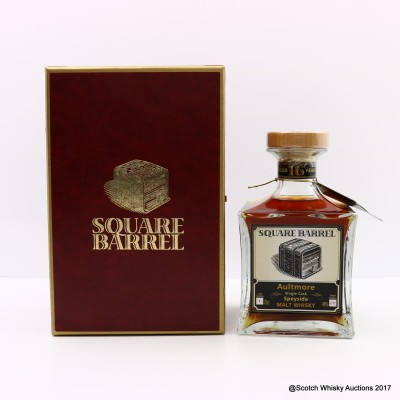 Aultmore 16 Year Old Square Barrel