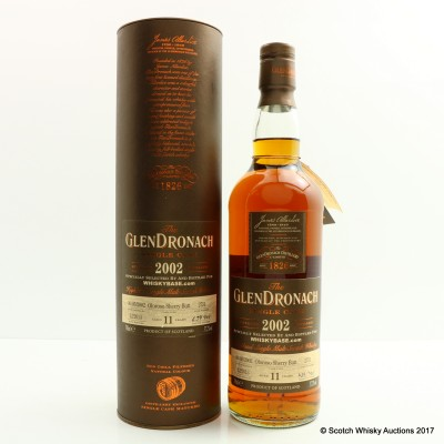 GlenDronach 2002 11 Year Old Single Cask #2751