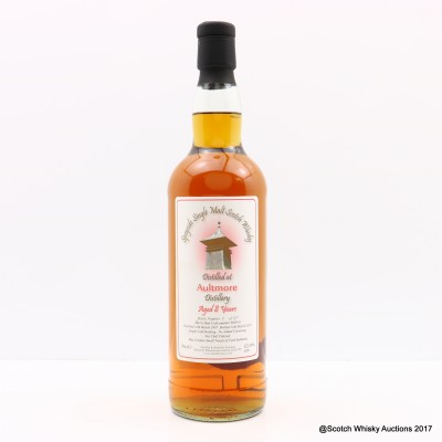Aultmore 2007 8 Year Old Whisky Broker