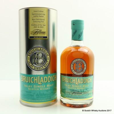 Bruichladdich 15 Year Old 2nd Edition