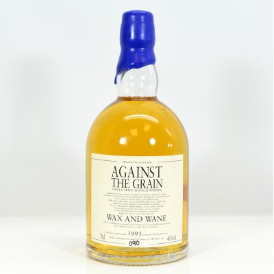 Against The Grain Wax And Wane 1996 13 Year Old