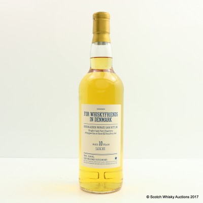 Bruichladdich 10 Year Old Single Cask #0872 Private Bottling