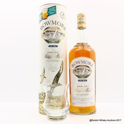 Bowmore Surf 1L With Glass