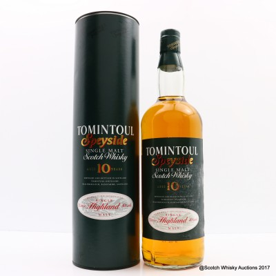 Tomintoul 10 Year Old 1L
