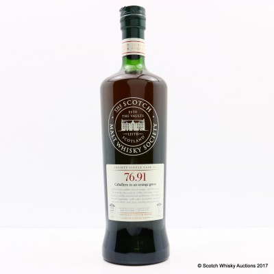 SMWS 76.91 Mortlach 1989 22 Year Old