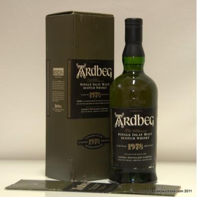 Ardbeg 1978 1999 Release
