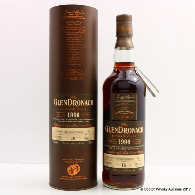 GlenDronach 1996 16 Year Old Cask #1481