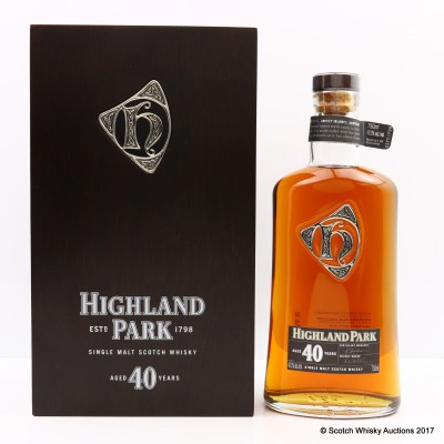 Highland Park 40 Year Old 75cl