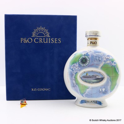 P&O Cruises X.O Cognac Decanter