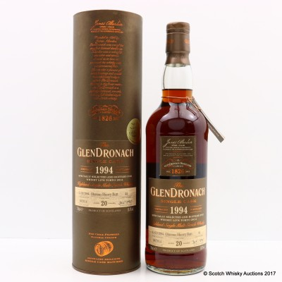 GlenDronach 1994 20 Year Old Single Cask #44 For Whisky Live Tokyo 2014