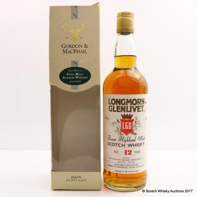 Longmorn-Glenlivet 12 Year Old Gordon & MacPhail