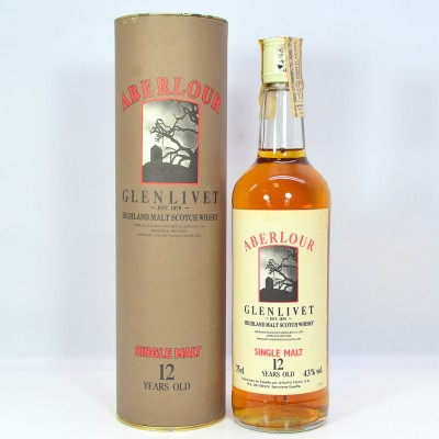 Aberlour-Glenlivet 12 Year Old 75cl