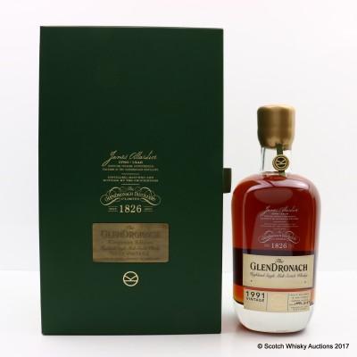GlenDronach 1991 25 Year Old Kingsman Edition