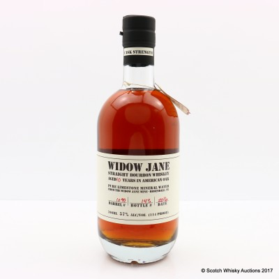 Widow Jane 10 Year Old Straight Bourbon Whisky For 60th Anniversary Of La Maison du Whisky