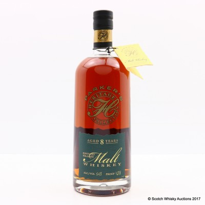 Parker's Heritage Collection 8 Year Old Kentucky Straight Malt 75cl