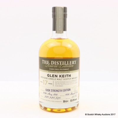 Glen Keith 1998 17 Year Old Distillery Reserve Collection 50cl