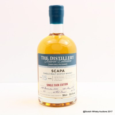 Scapa 2001 15 Year Old Distillery Reserve Collection 50cl