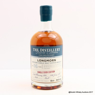 Longmorn 1999 16 Year Old Distillery Reserve Collection 50cl