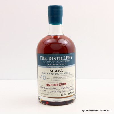 Scapa 2006 10 Year Old Distillery Reserve Collection 50cl