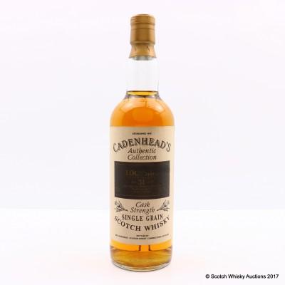 Lochside 1962 31 Year Old Cadenhead's