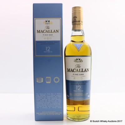 Macallan 12 Year Old Fine Oak 50cl