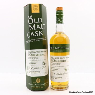 Littlemill 1992 21 Year Old Old Malt Cask