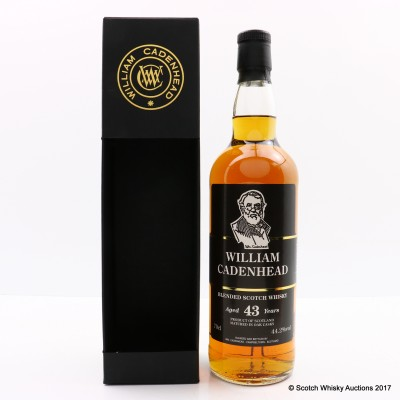 Blended Scotch Whisky 43 Year Old Cadenhead's