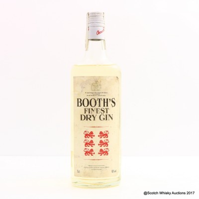 Booth's Finest Dry Gin 75cl