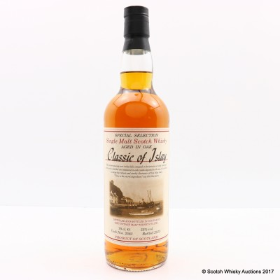Classic of Islay Vintage Malt Whisky Co. Ltd 2013