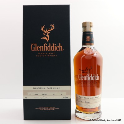 Glenfiddich Rare Whisky 21 Year Old Distillery Exclusive Cask #25