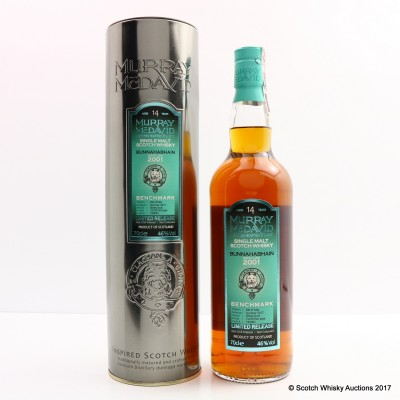 Bunnahabhain 2001 14 Year Old Murray McDavid