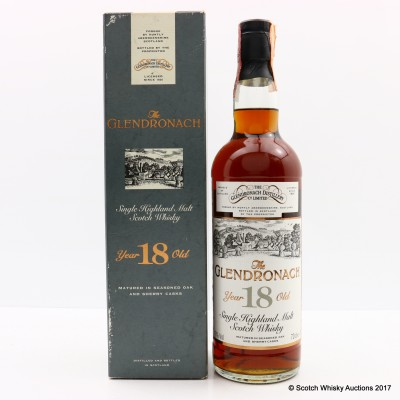 GlenDronach 1977 18 Year Old Old Style