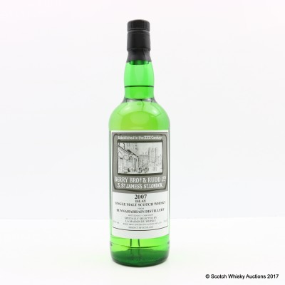 Bunnahabhain 2007 Berry Bros & Rudd Selected By La Maison du Whisky