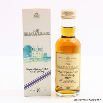 Macallan 1975 18 Year Old Mini 5cl