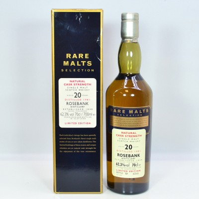 Rare Malts Rosebank 1981 20 Year Old