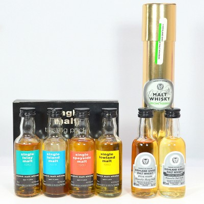 Single Malt Tasting Pack With 2 M&S Single Malt Minis