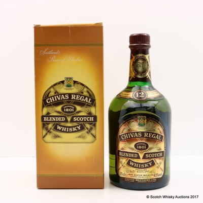 Chivas Regal 12 Year Old 75cl